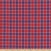 Classic Threads Cotton Fabric - Small Plaid - Americana