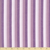 Classic Threads Large Stripe Cotton Fabric - Sorbet