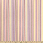 Classic Threads Yarn Dyed Cotton Fabric - Small Stripes - Sorbet