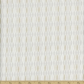 Classical Elements Eyelet Cotton Fabric - Ecru