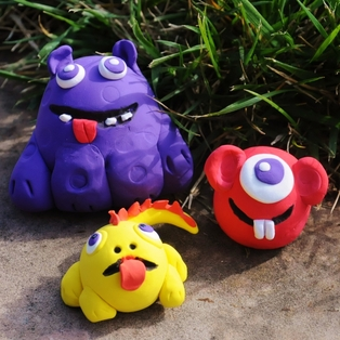 Clay With Me Monsters