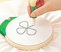 Clover Embroidery Stitching Tool Punch Needle