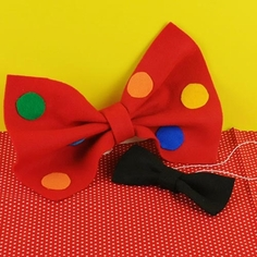 Clown Bows and Neckties