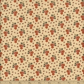 Collections Friendship Cotton Fabric - Cream 46126-15