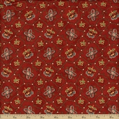 Collections Friendship Cotton Fabric - Red 46121-10