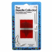 Collins Needle Collection for Quilters and Crafters - 24ct