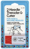 Collins Needle Threader and Cutter 2/pkg
