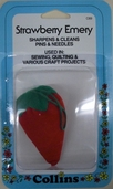 Collins Strawberry Emery Pin Cushion