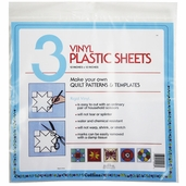 Collins Vinyl Plastic Sheets 12in. x 12in. 3 Sheets