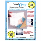 Collins Wash Away Foundation Paper 10 Sheets