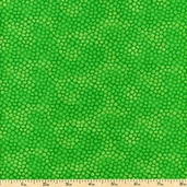 Color Burst Cotton Fabric - Green