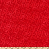 Color Burst Cotton Fabric - Red - Clearance