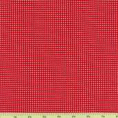 Color Stories Tiny Gingham Cotton Fabric - Red CX4834-Cher-D
