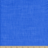 Color Weave Cotton Fabric - Bright Blue