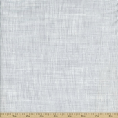 Color Weave Cotton Fabric - Light Silver