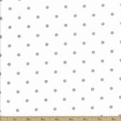 Comfy Flannel Cotton Fabric - White RN-17948
