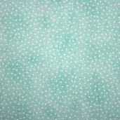 Comfy Flannel - Dots Green