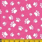 Comfy Flannel Fabric - Pink - Clearance