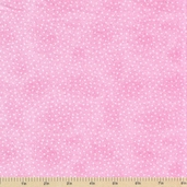 Comfy Flannel Prints - Dots Pink