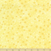 Comfy Flannel Prints - Stars Yellow