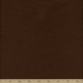 Comfy Flannel Solids - Chocolate S04