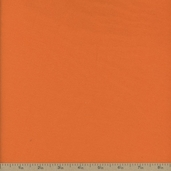 Comfy Flannel Solid Fabric - Pumpkin