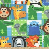 Comfy Prints Animal Flannel Fabric