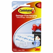 Command Small Hooks -  Clear