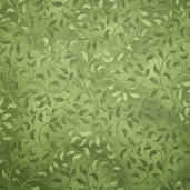 Complements Climbing Vine Cotton Fabric - Dark Green