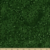 Complements Climbing Vine Cotton Fabric - Emerald Green Q.1887-38717-757