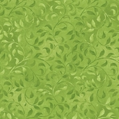 Complements Climbing Vine Cotton Fabric - Green