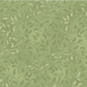 Complements Climbing Vine Cotton Fabric - Light Green