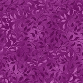 Complements Climbing Vine Cotton Fabric - Violet