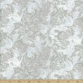 Complements Embellishment Cotton Fabric - Light Gray