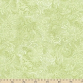 Complements Embellishment Cotton Fabric - Light Green