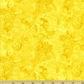 Complements Embellishment Cotton Fabric - Yellow