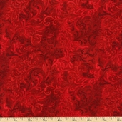 Complements Embellishment Cotton Fabric - Deep Red 1013-51000-333