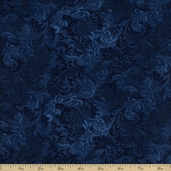 Complements Embellishment Cotton Fabric - Navy Q.1013-51000-449
