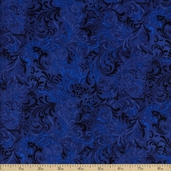 Complements Embellishments Cotton Fabric - Royal Blue Q.1013-51000-444