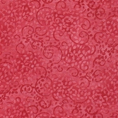 Complements Leafy Scroll Cotton Fabric - Pink