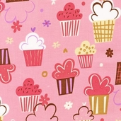 Confections Cotton Fabric - Blush