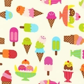 Confections Cotton Fabric - Pastel