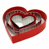 Cookie Cutter From the Heart Set 4 piece