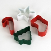 Cookie Cutter Jolly Shapes - 4pcs