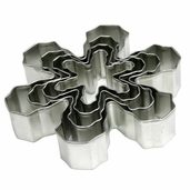 Cookie Cutter Snowflake Set - 4pcs.