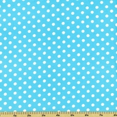 Cool Cords Polka Dot Corduroy Cotton Fabric - Cloud UPC-6003-216
