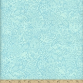 Coquette Cotton Fabric - Aqua 16064-21