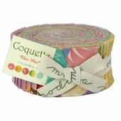 Coquette Cotton Fabric - Jelly Roll