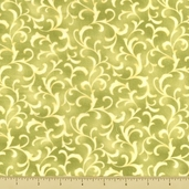 Coquette Cotton Fabric - Scroll - Spring