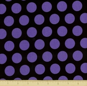 Costume Clubhouse Cotton Fabric - Dot - Purple
